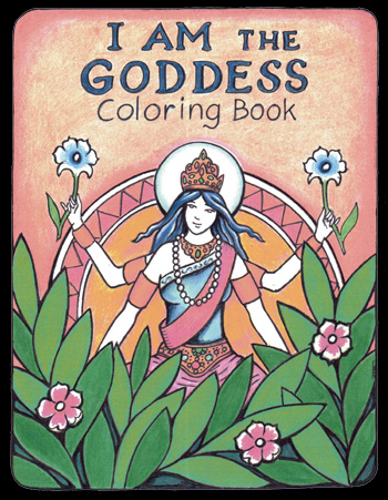 Cover of I AM the Goddess Coloring Book